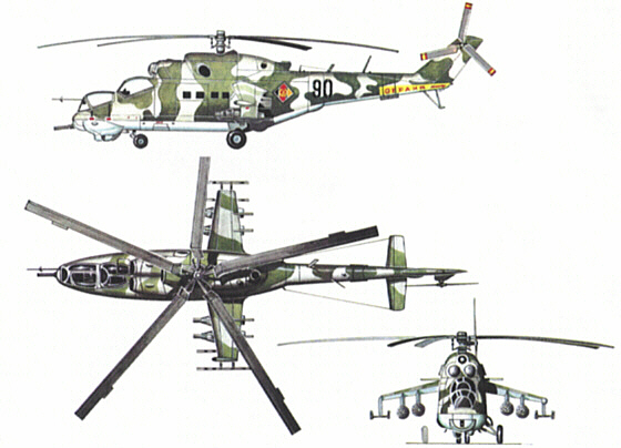 helicopteros rusos