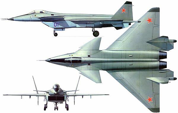 T50 米格1.44 苏-47 苏联/俄罗斯 第五代战斗机 苏霍伊 :: 空军世界
